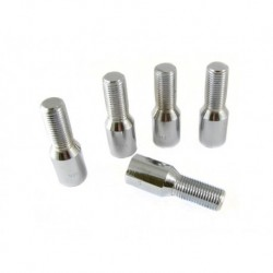 Kit tornillos standard tubulares conicos cromo